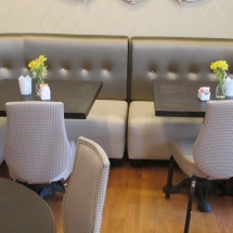 tea room seating