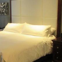 hotel bed headboard